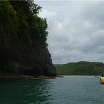 Leaving Marigot Bay