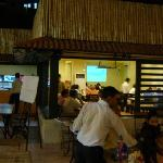 dinner at garden cafe