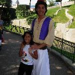 Michela con Aladino