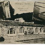 Historic photo of the pool house