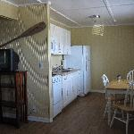 Nice kitchen to cook your catch (or in outside BBQ area)