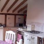 Kitchen in Cerise