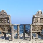 Waterside seating