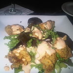 Souther 'heavily batteredr' fried oysters