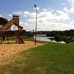 Adventure playground by lake pertobe