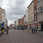 Wide range of shops