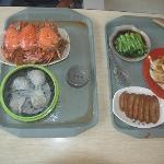 Delicious food at Yuyuan