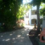 Path in resort