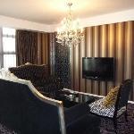 Classically designed sofas - nice!