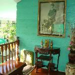 Communal sitting area/veranda.