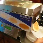 leur nouvel appareil à pancakes