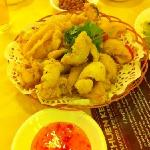 deep fried calamari
