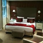 Stunning deluxe room- well worth a little extra although they upgraded me free!