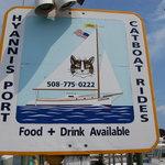 Cat Boat Sign