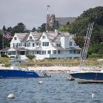View of the Kennedy compound