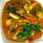 chef Asai crab curry.