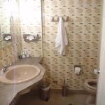 Το μπάνιο ήταν απλά αποδεκτό, όχι καθαρό πάντως.