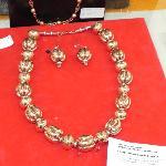 Copper Necklace & Earrings