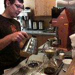 Learning about the art of the perfect cup at OZO