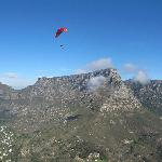 Another paraglider