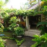 onze eigen cottage in de tuin