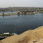View of Nile from Tombs of the Nobles