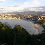 Vistas desde Monte Igueldo