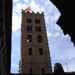 Torre monestir desde el claustro