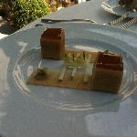 foie gras fumé aux pommes