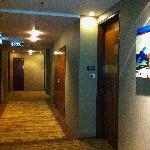corridor outside our room