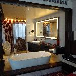 un gran baño!!!
