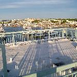 Marina from private roof terrace