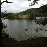 castle at loch an eilen