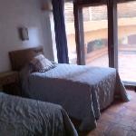 segunda habitación y terraza