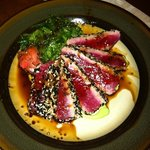 Seared Ahi @ Next Course (VQS, PR)