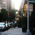 Entrada desde la calle