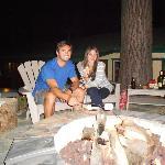 the Firepit and s'mores