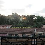 Sunrise from the Villa Borghese suite balcony