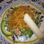 Salad with seafood @ Panchos