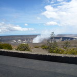 This crater is inside Kilauea 9-2011