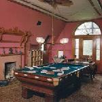 --another postcard I bought of the room where Twain did most of his popular writings