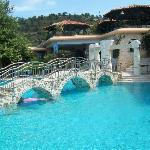 Pools of resort