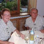 """^vorzügliches Gala-Dinner """"in Anmarsch"""""""
