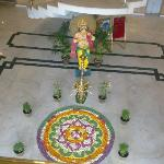 pookalam in lobby