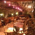 Le restaurant dans une ancienne écurie