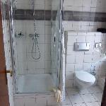 Spacious new bathroom