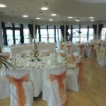 Wedding Breakfast - Harbour View Suite