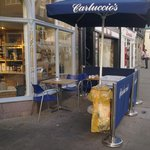 Sitting by the garbage adds unwanted aromas to the offerings from Carluccio's