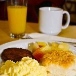 Hot Breakfast Buffet
