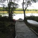 Mersey River Chalets Riverside Dock
